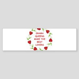DRAMAQUEENS Sticker (Bumper)
