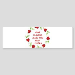 CRAP.png Sticker (Bumper)
