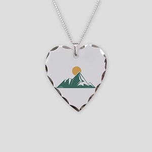 Sunrise Mountain Necklace