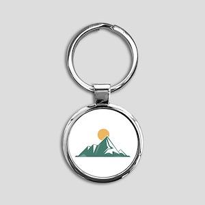 Sunrise Mountain Keychains