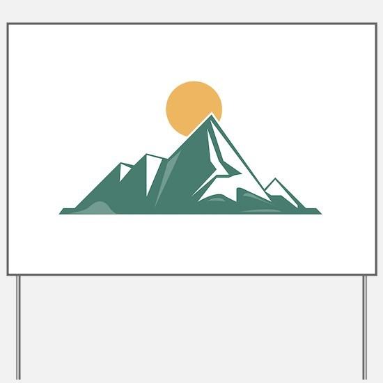 Sunrise Mountain Yard Sign