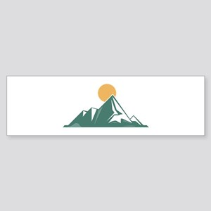 Sunrise Mountain Bumper Sticker
