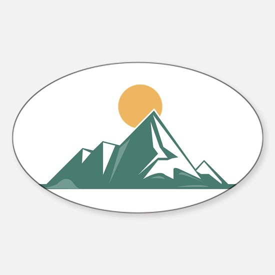 Sunrise Mountain Bumper Stickers
