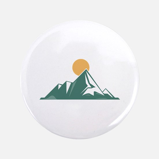 "Sunrise Mountain 3.5"" Button (100 pack)"