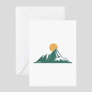 Sunrise Mountain Greeting Cards