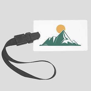 Sunrise Mountain Luggage Tag