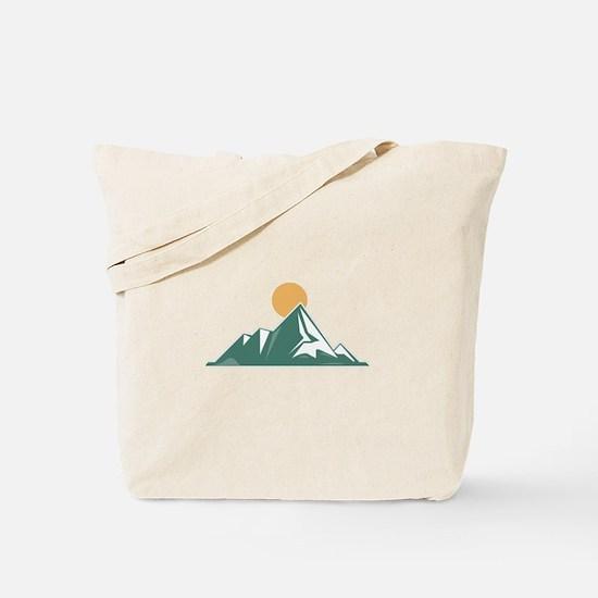 Sunrise Mountain Tote Bag