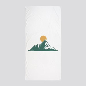 Sunrise Mountain Beach Towel