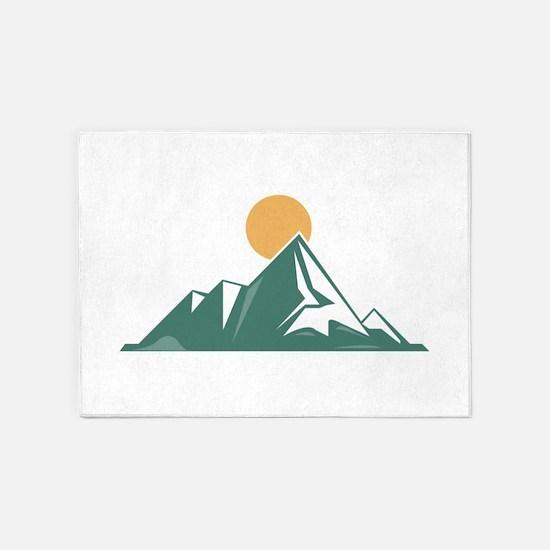 Sunrise Mountain 5'x7'Area Rug