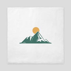 Sunrise Mountain Queen Duvet