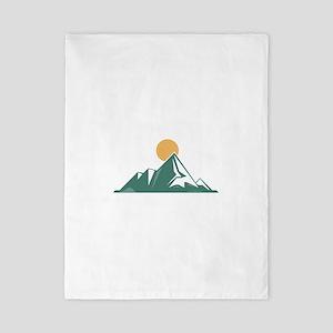 Sunrise Mountain Twin Duvet