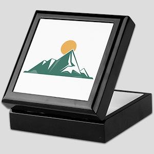 Sunrise Mountain Keepsake Box