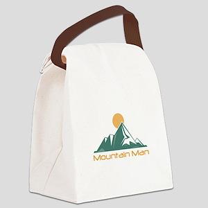 Mountain Man Canvas Lunch Bag