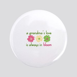 "Grandmas Love 3.5"" Button"