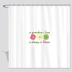 Grandmas Love Shower Curtain