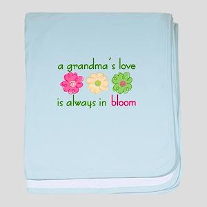 Grandmas Love baby blanket