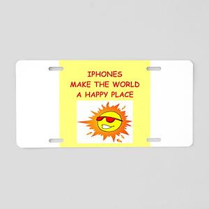 IPHONES Aluminum License Plate