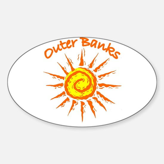 Outer Banks Oval Decal