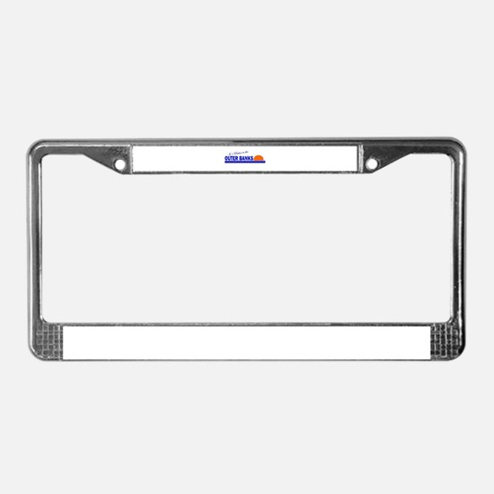 Its Better in the Outer Banks License Plate Frame