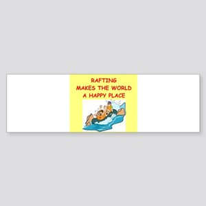 RAFTING Sticker (Bumper)