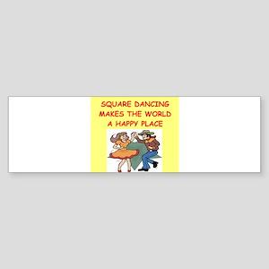 SQUARE Sticker (Bumper)