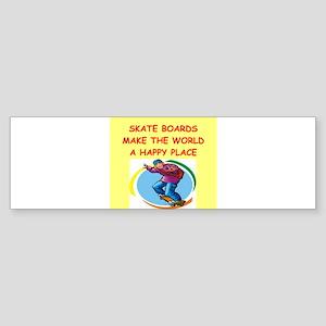 SKATE Sticker (Bumper)