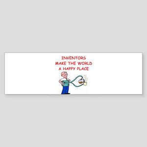INVENTOR Sticker (Bumper)