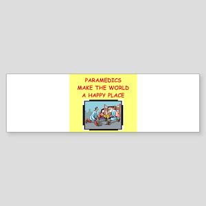 PARAMEDICS Sticker (Bumper)