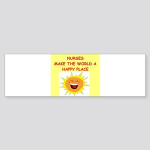 NURSES Sticker (Bumper)