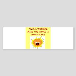 POSTAL Sticker (Bumper)