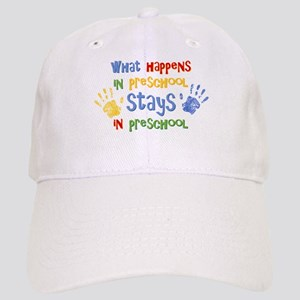 Stays In Preschool Cap