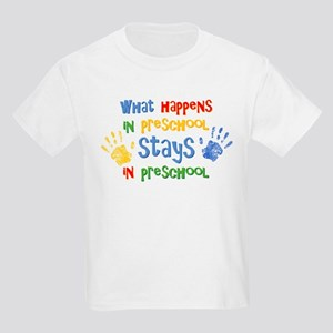 Stays In Preschool Kids Light T-Shirt