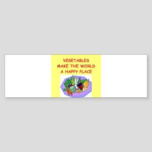 VEGGIES Sticker (Bumper)