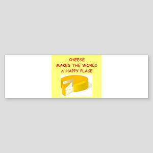 CHEESE Sticker (Bumper)