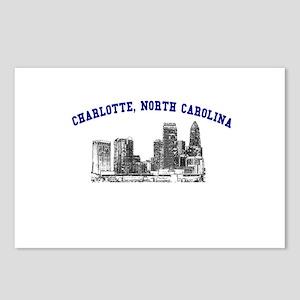 Charlotte, North Carolina Postcards (Package of 8)
