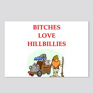 hillbilly Postcards (Package of 8)