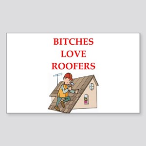 roofer Sticker (Rectangle)
