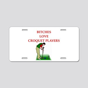 cribbage Aluminum License Plate