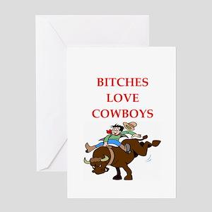 cowboy Greeting Card