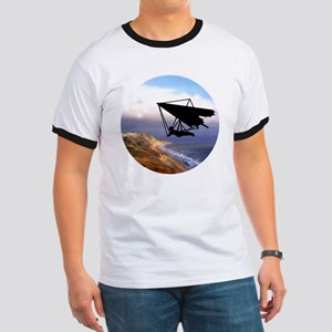 Hang Gliding Over the California Coast T-Shirt