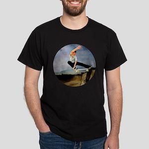 Skateboarding the Wall T-Shirt