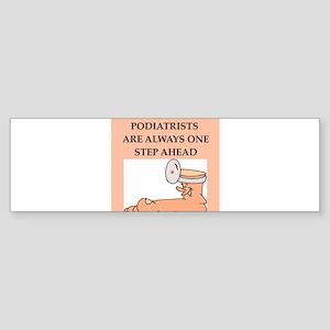 PODIATRIST Sticker (Bumper)