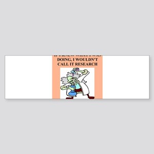 medical labortory gifts t-shirts Sticker (Bumper)