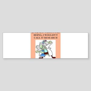 medical labortory gifts t-shirts Sticker (Bumper)