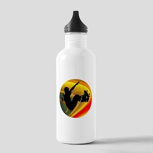 Skateboarding Silhouet Stainless Water Bottle 1.0L