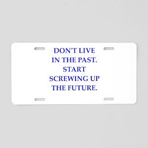 FUTURE Aluminum License Plate