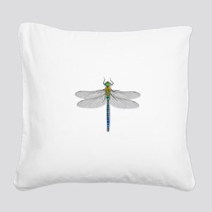 Dragonfly Square Canvas Pillow