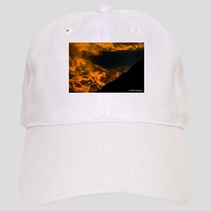clouds and sunset Baseball Cap