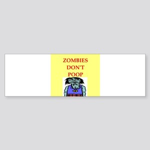ZOMBIES Sticker (Bumper)