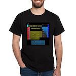 Dark periodic chart T-Shirt